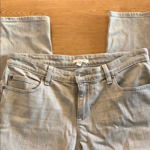 Euc Eileen fisher grey straight leg jeans